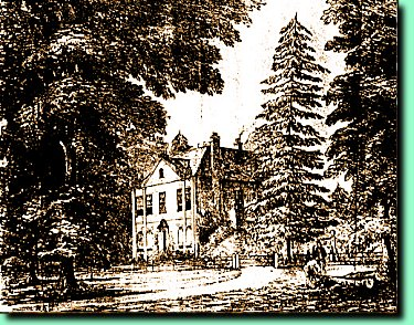 Early woodcut of the house (c.1890)